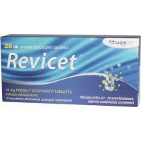 Revicet 10 mg préselt szopogató tabletta