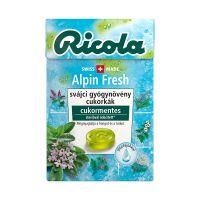 Ricola Alpin Fresh cukormentes cukorka (Pingvin Product)
