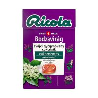 Ricola Gyógynövényes cukorka Bodza (Pingvin Product)
