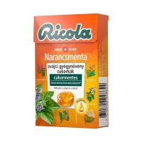 Ricola Orange Mint cukormentes cukorka (Pingvin Product)