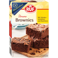 Ruf gluténmentes brownie por