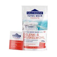 Salthouse Holt-tengeri fürdősó Izom-Ízület (400g+20ml)