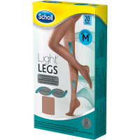 Scholl Light Legs harisnya 20DEN M testszínű (Pingvin Product)