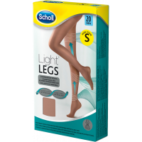 Scholl Light Legs harisnya 20DEN S testszínű (Pingvin Product)