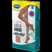 Scholl Light Legs harisnya 20DEN XL testszínű (Pingvin Product)