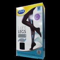 SCHOLL Light Legs kompressziós harisnya 60DEN XL fekete (Pingvin Product)