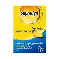 Supradyn Energia 50+ filmtabletta