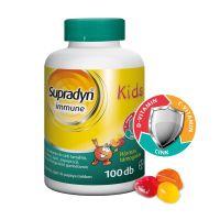 Supradyn Immune Kids gumivitamin narancs-eper (Pingvin Product)