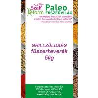 Szafi Fitt grillzöldség fűszerkeverék