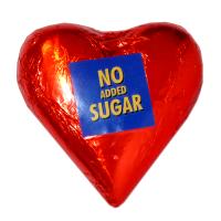 Diabette NAS tejcsokoládé szív cukor nélkül (Pingvin Product)
