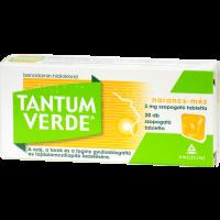 Tantum Verde narancs-méz 3 mg szopogató tabletta