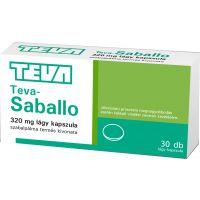 Teva-Saballo 320 mg lágy kapszula (régi név:Saball