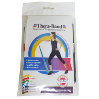 Thera-Band gumiszalag fekete szuper erős 1,5m (Pingvin Product)