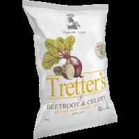 Tretter's gluténm. zöldség chips Cheddar sajt ízű (Pingvin Product)
