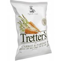 Tretter's gluténm. zöldség chips sóval és borssal