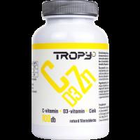 Tropy C-vitamin 1000 mg+D3+Cink retard filmtabletta (100db)