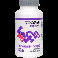 Tropy Gumi-Brumi Multivitamin + Omega 3 gumitabletta
