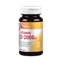 Vitaking D3-vitamin 2000NE lágy kapszula