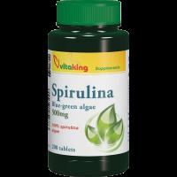 Vitaking Spirulina 500 mg tabletta