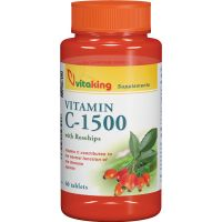 Vitaking C-vitamin 1500 mg csipkebogyó tabletta