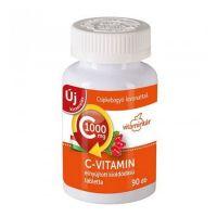 Vitamintár C-vit. 1000 mg Csipkebogyó retard tabl.