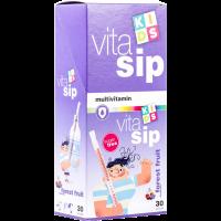 Vitasip Kids Multivitamin szívószál Erdei gy. (Pingvin Product)