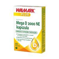 Walmark Mega D 2000 NE  étrend-kiegészítő kapszula
