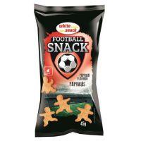 White snack football snack paprikás (Pingvin Product)
