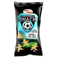 White snack football snack hagymás édes chilis (Pingvin Product)