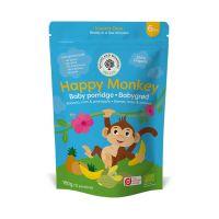 Happy Monkey Bio Bébi zabkása Banán-Ananász (12x15g)