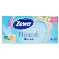 Papírzsebkendő Zewa Deluxe Water Lily (Pingvin Product)
