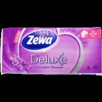 Papírzsebkendő Zewa Deluxe Lavender - 90x