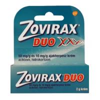 Zovirax Duo 50mg/g+10mg/g krém ajakherpeszre (Pingvin Product)