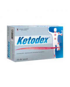 Ketodex 25 mg granulátum belsőleges oldathoz