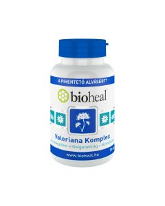 Bioheal Valeriana Komplex kapszula (Macskagyökér + Golgotavirág + Komlótoboz) (70 db)