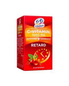 1x1 Vitamin C-vitamin 1000 mg + D3 retard filmtabletta csipkebogyóval