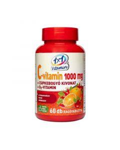 1x1 Vitamin C-vitamin 1000 mg + D3-vitamin csipkebogyó kivonattal