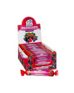 1x1 Vitamin Multivitamin szőlőcukor rágótabletta erdei gyümölcs ízben