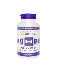 Bioheal Kalcium 500mg + D3-vitamin+ K2-vitamin filmtabletta (70x)