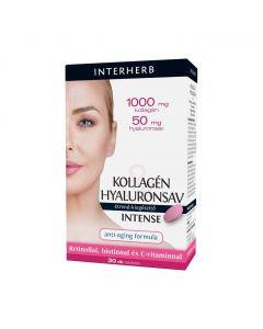 Interherb Kollagén & Hyaluronsav Intense tabletta (30x)