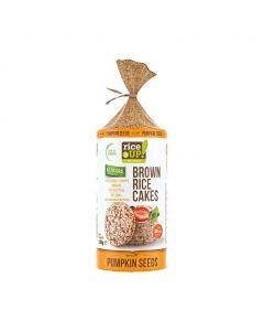 Rice Up barna rizs szelet tökmagos GM (120g)
