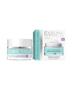 Eveline Hyaluron&Collagen 50+ arckr.napp.éjsz. (50ml)
