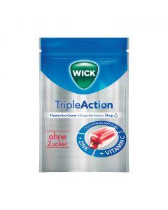 Wick Triple Action cukmentes torokcukor - 72g