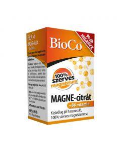 BioCo MAGNE-citrát +B6-vitamin filmtabletta (90db, megapack)