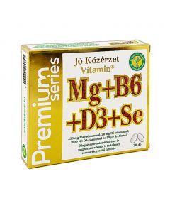 Vitamin Prémium Mg B6 D3 Se tabl. JÓ KÖZÉRZET