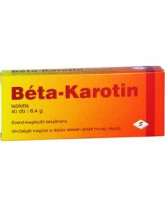 Béta-karotin tabletta