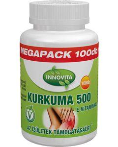 BioCo InnoVita Kurkuma 500mg E tabletta