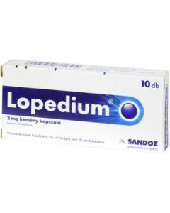 Lopedium 2 mg kemény kapszula