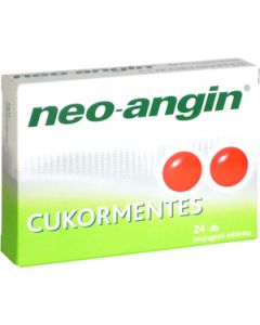 Neo-Angin cukormentes szopogató tabletta