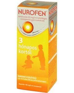 Nurofen 20mg/ml belsőleges szuszpenzió gyermekeknek narancs ízben